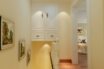 104平乡村田园住宅欣赏楼梯间设计