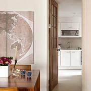 简约风格住宅套图厨房室内门