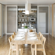 日式MIUI清爽住宅欣赏餐厅设计图