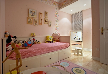 简约风格两居室住宅欣赏儿童房