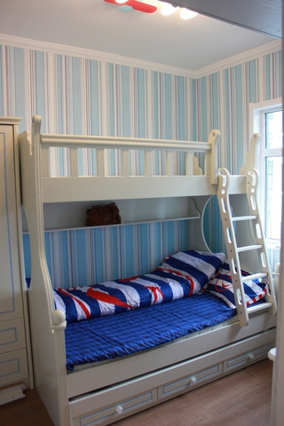 简欧风格三居效果图欣赏儿童房设计