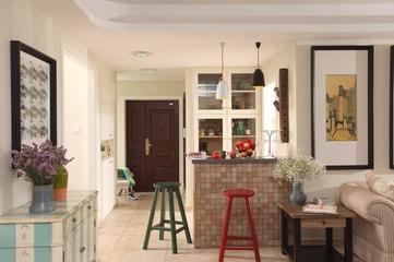 77平简约两居设计欣赏厨房吧台