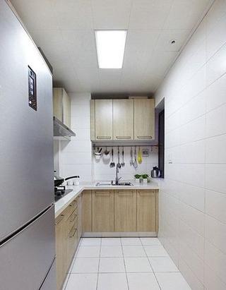 82平现代婚房两居室欣赏厨房橱柜