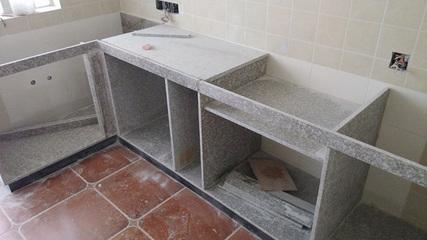 麻石手砌石英石橱柜 2万元效果堪比10万元欧派整体橱柜
