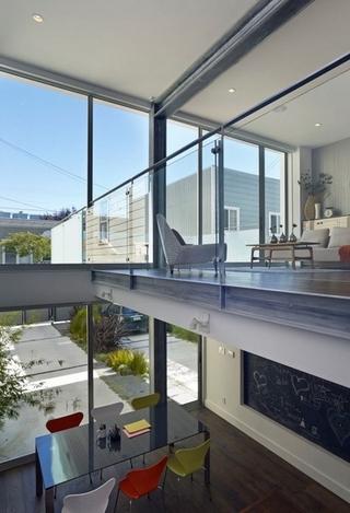 简约小空间复式住宅欣赏餐厅