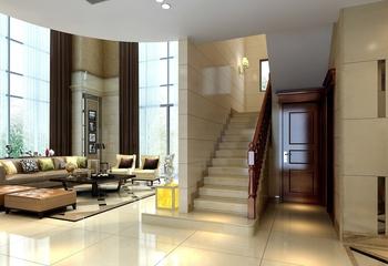 227平奢华欧式别墅欣赏客厅陈设