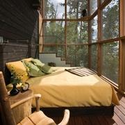 探寻材质本身质感的现代风格卧室