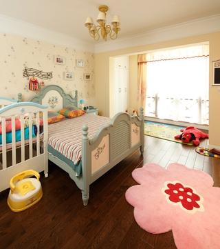 地中海设计风格儿童房效果图