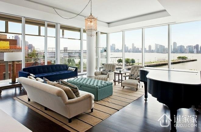 现代舒适阳光单身公寓欣赏