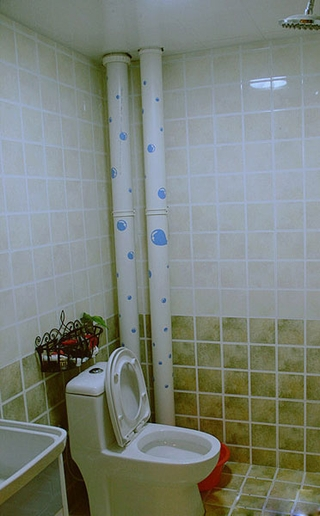 宜家风格设计效果赏析卫生间