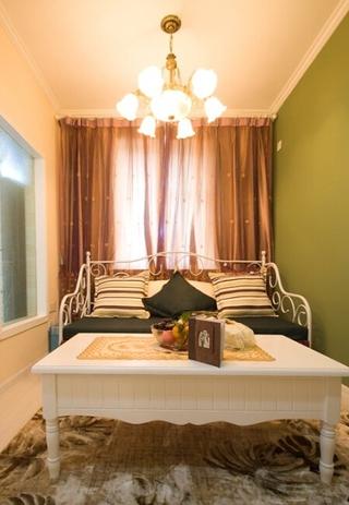 混搭客厅休息区灯饰效果图 浪漫温馨