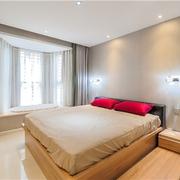 124平简约舒适住宅欣赏卧室