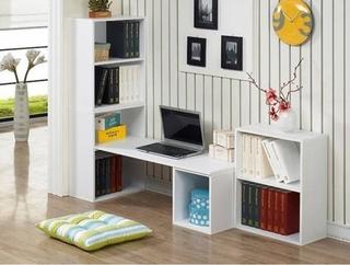 什么是书柜电脑桌及效果图欣赏  