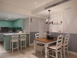 温馨田园风格效果图欣赏厨房