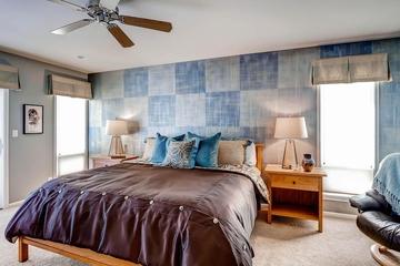 法式风格装饰别墅设计卧室