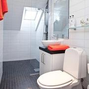37平单身现代公寓欣赏卫生间