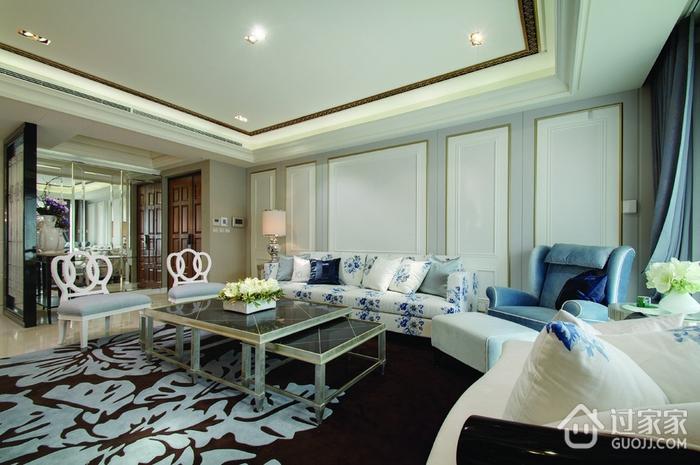 新古典三居室样板房欣赏
