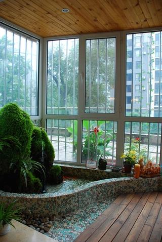 奢华欧式风情四居室欣赏阳台窗户