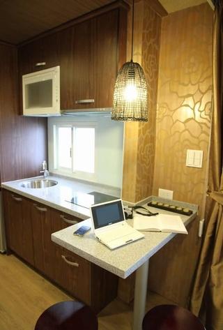 66平东南亚风格住宅厨房