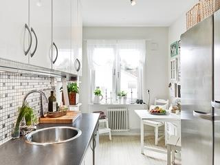 阳光美屋三居室欣赏厨房设计