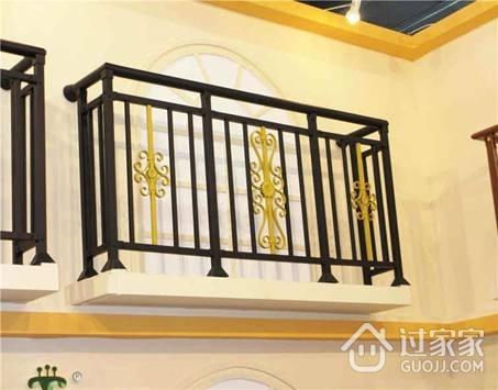 锌钢阳台护栏的分类