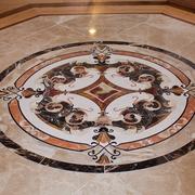 美式别墅装饰设计赏析地面铺贴