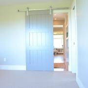 简约风格住宅效果图卧室门