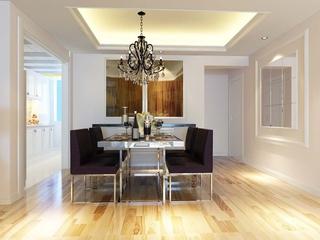 107平现代三室住宅欣赏