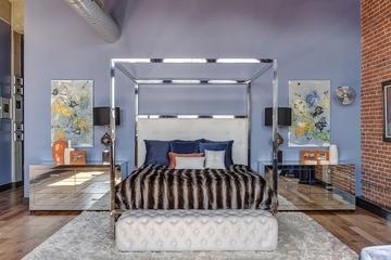 多彩混搭复式风欣赏卧室