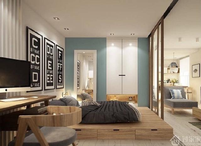 九张卧室地台装修效果图欣赏 带你进入懒人世界