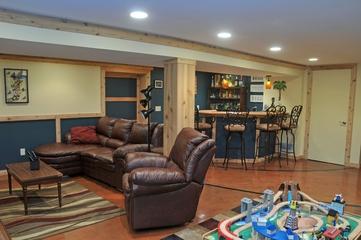 美式风格别墅装修套图家庭厅设计图