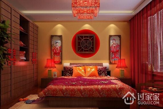 混搭温馨效果图案例欣赏卧室陈设