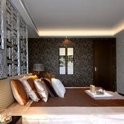中式风格次卧装修图