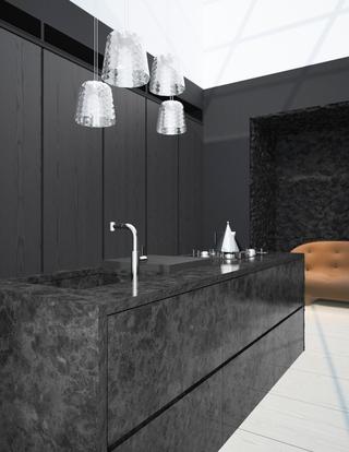 极简主义现代公寓欣赏厨房设计
