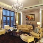 欧式住宅设计套图沙发背景墙