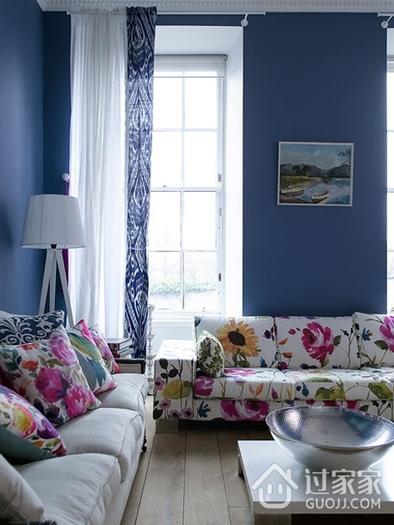 蓝色地中海一居室欣赏