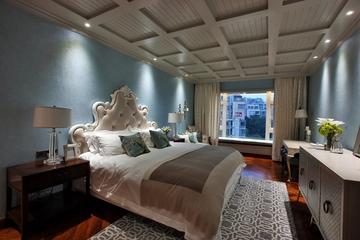 混搭装饰顶层豪宅欣赏卧室设计图