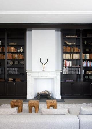 秋意浓现代家居欣赏书房