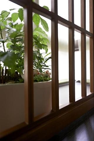 轻装修日式风格欣赏卧室窗台