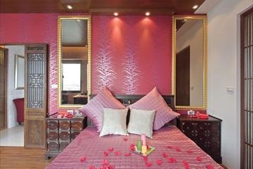 中式禅风两室一厅欣赏卧室效果