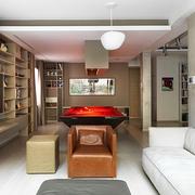 设计师倾力打造现代住宅欣赏游戏厅