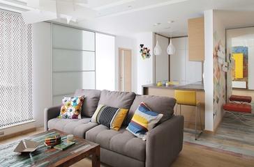 简约单身公寓设计