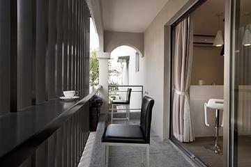 简约别墅空间效果图欣赏阳台