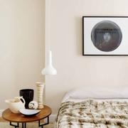 有趣设计白色北欧住宅欣赏卧室局部