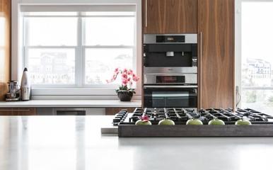 复式白色现代住宅欣赏厨房效果