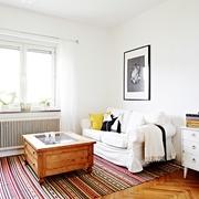 43平现代有爱一居室欣赏客厅