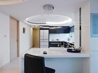 73平时尚现代两居室欣赏厨房设计