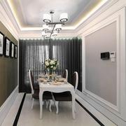 98平简欧风格住宅欣赏餐厅设计