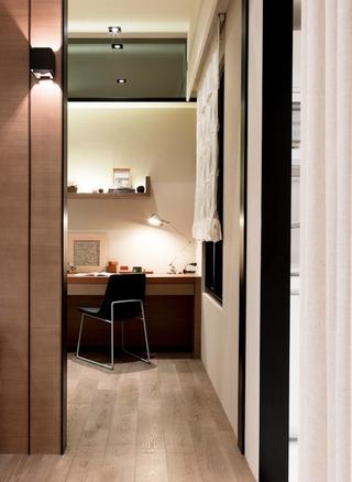 传统优雅日式风格欣赏卧室过道设计