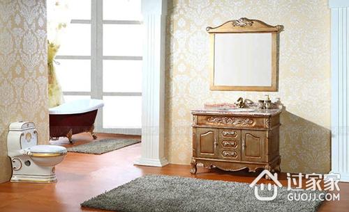 欧式浴室柜的特点 欧式浴室柜的安装